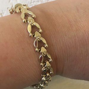 """Jewelry - 14kt Italian """"Stampato"""" Bracelet"""